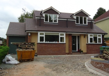 Full refurbishment & extension of 1960s chalet bungalow