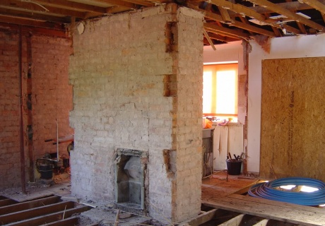 Basement conversion of Grade II Listed town house